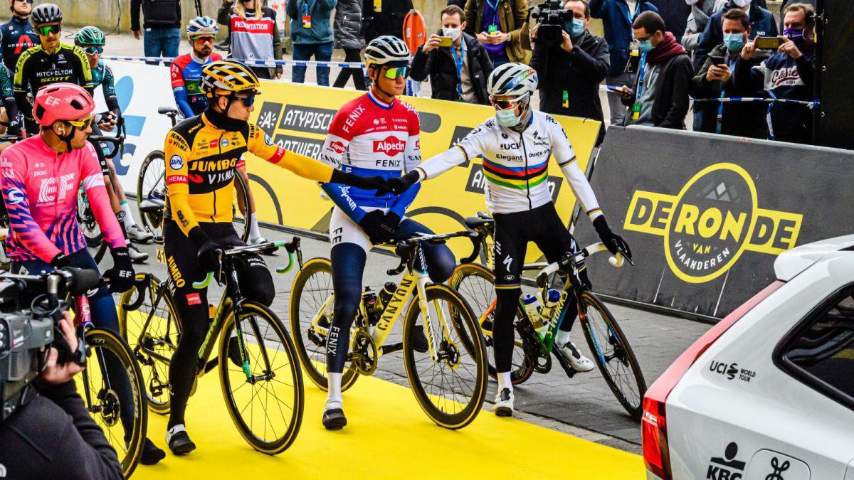 Flanders-Tour-2021:-favorites-route-participants-...