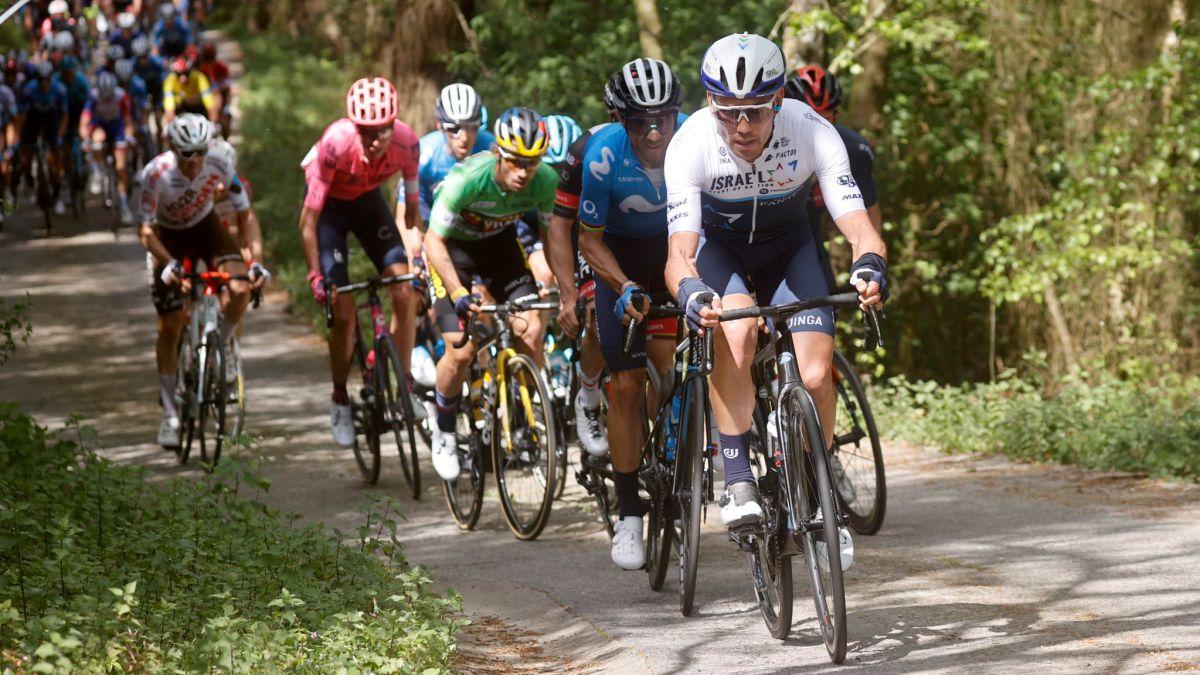 Roglic-leaves;-Pogacar-Valverde-and-Landa-chase-him