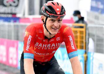 """Mohoric y su dura caída en el Giro: """"Me salvaron la bici y el casco"""" 1"""