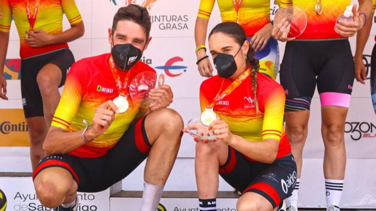 David-Valero-and-Rocío-García-win-in-Sabiñánigo