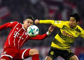 Bayern Múnich 2-1 Dortmund: Copa de Alemania