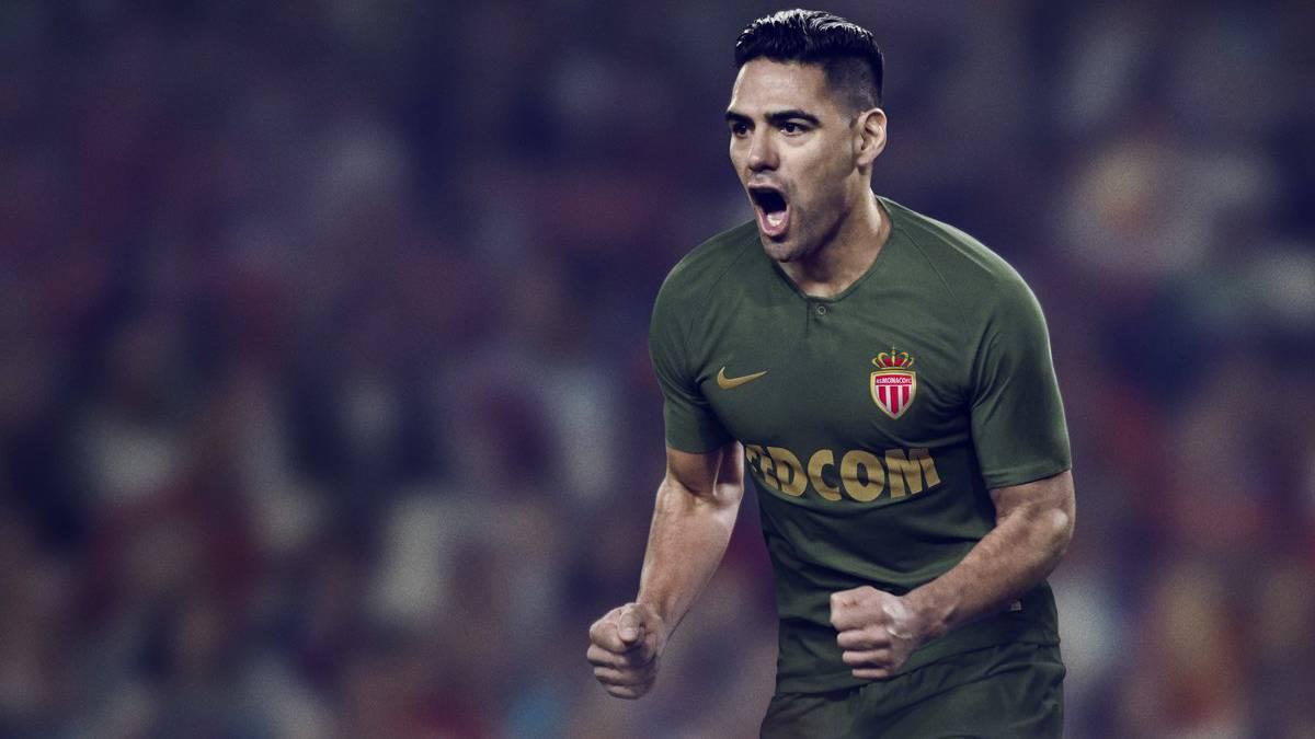 2b48e06f044ee Falcao García ya luce la nueva camiseta del Mónaco - AS Colombia