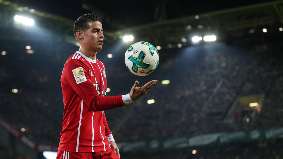 James Rodr 237 Guez To Stay At Bayern Munich As Com