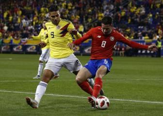 Colombia cierra la fecha FIFA con victoria ante Costa Rica