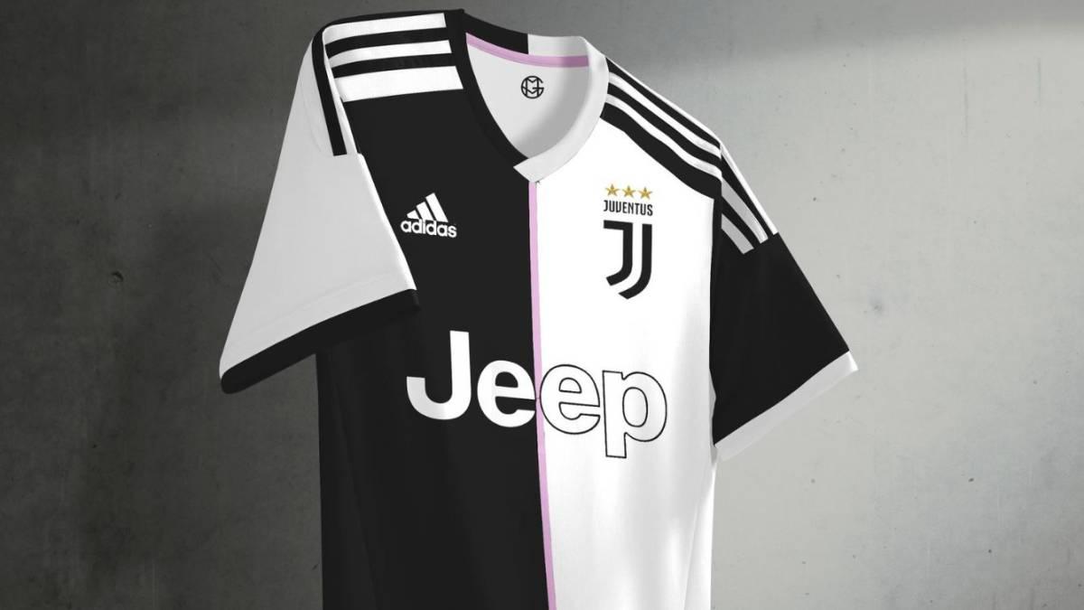 6c7bb25413677 Así sería la próxima camiseta de la Juve de Cuadrado y Cristiano ...