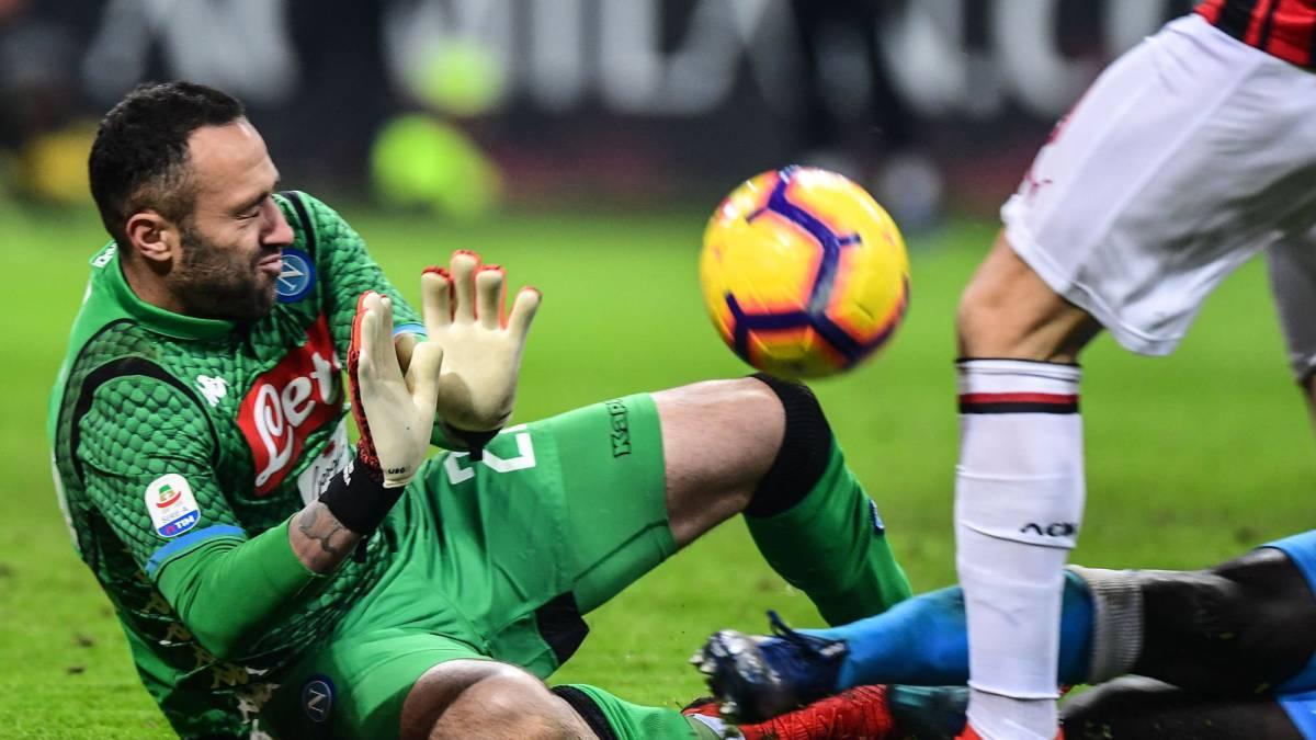 Milan 0 – 0 Napoli  Resultado f12977b96f910