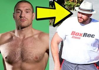 La nueva dieta de Tyson Fury: ha perdido 25 kg para volver al ring