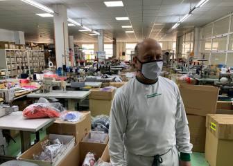 Una fábrica de ropa deportiva en Cantabria dona 11.000 mascarillas para los geriátricos