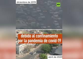 Si lo de Madrid impresionaba... vean el país que ha dejado de ser una peli de ciencia ficción sin contaminación