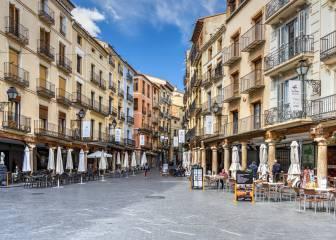 Por qué los comercios de Huesca y Teruel llevan la delantera de la reactivación económica