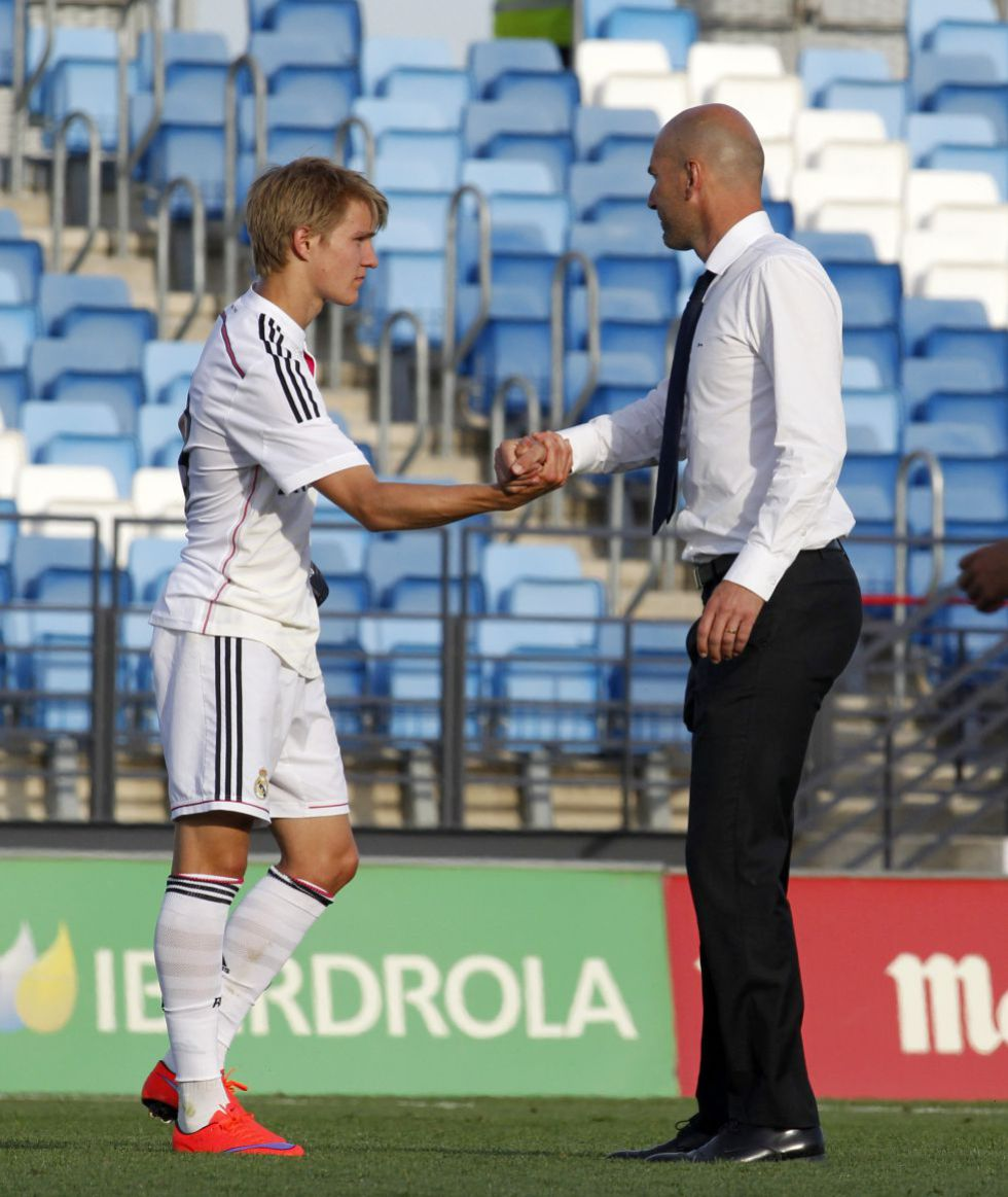 5d5ed7eec Madrid want Ødegaard to continue with Zidane s Castilla - AS.com