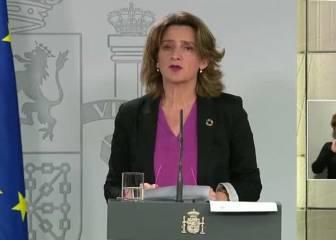 """Teresa Ribera: """"Están asegurados todos los suministros básicos de agua, luz y gas"""""""