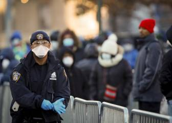 """Nueva York amanece """"en modo desastre"""" por el coronavirus"""