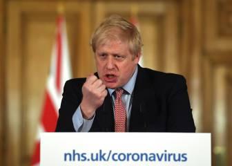 Boris Johnson, en la UCI