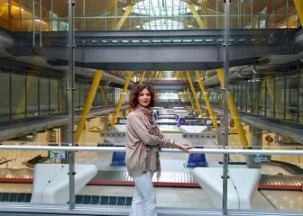 La 'jefa' del aeropuerto de Madrid: ?Nunca tan poca actividad ha sido tan importante?