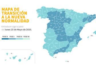 Madrid y Barcelona pasan a la fase 1; y a la fase 2 País Vasco, Galicia, Aragón, Extremadura...