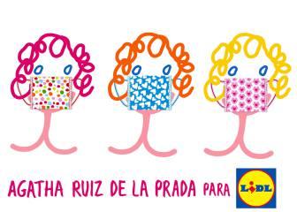 Mascarillas de Lidl de Ágatha Ruiz de la Prada: precio, tipos y cómo comprar
