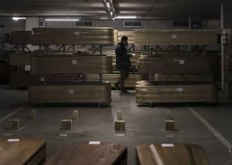 España, con 47.000 defunciones más, segundo país del mundo con mayor exceso de muertes