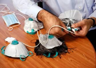 Una mascarilla diseñada en Israel mata el virus a través del cargador de un teléfono móvil