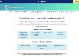 Un asistente virtual te ayuda a saber si puedes acceder a las ayudas sociales del Gobierno
