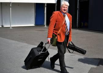 El padre de Johnson burla las restricciones del Reino Unido y viaja a su villa de Grecia