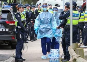 Australia confina a más de 300.000 personas tras un rebrote que se inició por compartir un mechero