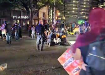 Un hombre muere tiroteado en Texas durante una marcha del movimiento Black Lives Matter