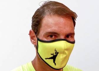 Rafa Nadal pone a la venta sus propios diseños de mascarillas
