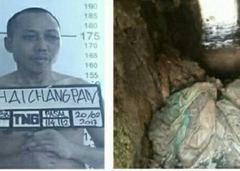Un narcotraficante se escapa al más puro estilo Chapo Guzmán