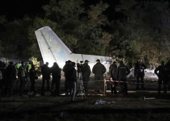 Así se salvó el único superviviente de un accidente de avión en Ucrania