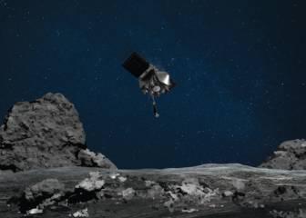 La OSIRIS-REx se la juega en diez segundos sobre un asteroide