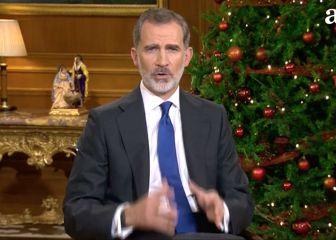 Discurso del rey Felipe VI, en directo: mensaje de Navidad 1