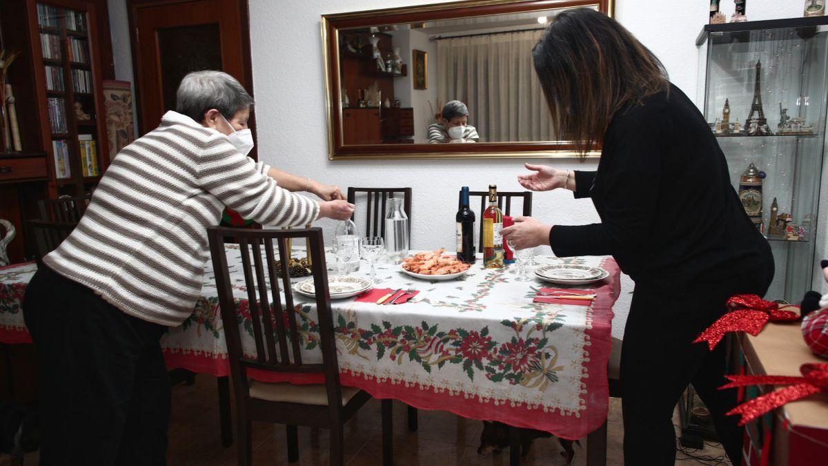 Primera Nochebuena en Madrid sin llamadas a la Policía por peleas familiares