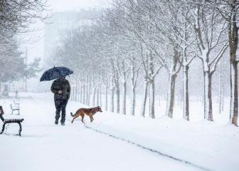 España, bajo la amenaza de una gran ola de frio con nieve