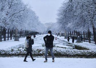 ¿Dónde serán las nevadas más intensas en Madrid?