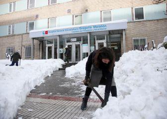Las urgencias de los hospitales de Madrid se llenan de caídas por el hielo