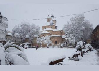 El municipio de Madrid que registró -16º bajo cero