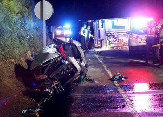 Tres menores de 25 años mueren en un accidente de tráfico en Caldas de Reis (Pontevedra) 1
