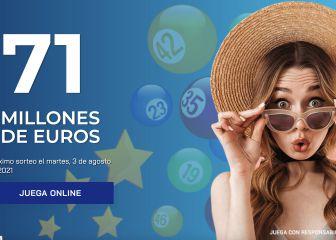 Euromillones: comprobar los resultados del sorteo de hoy, martes 3 de agosto