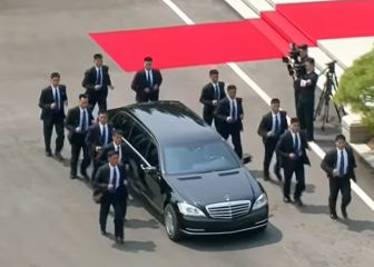 El motivo por el que los guardaespaldas de Kim Jong-Un corren junto a su limusina
