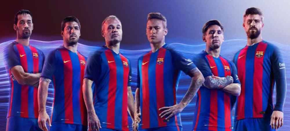 LaLiga | A look at Barcelona's home jersey ahead of 2016 ...