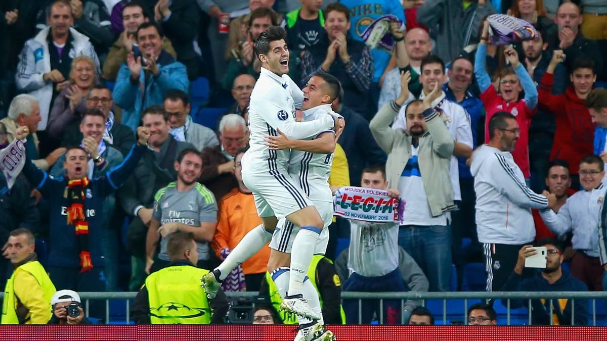 d88c653e683 Real Madrid 5-1 Legia Warsaw  result
