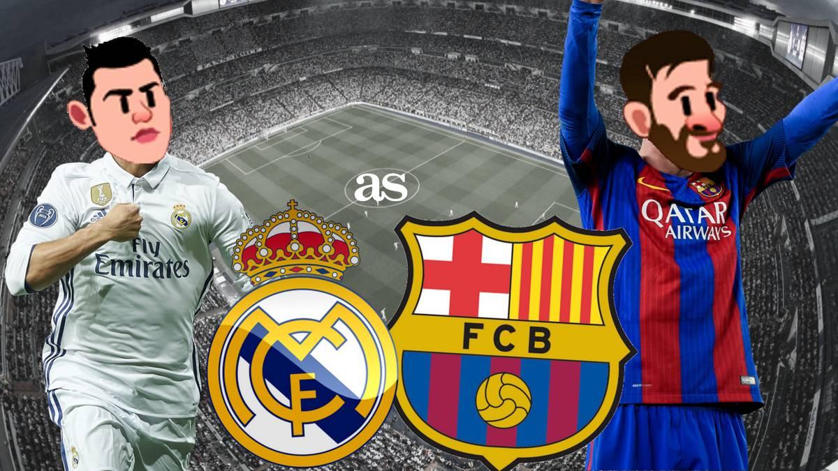 El Clásico on Twitter: Real Madrid and Barcelona emojis ...