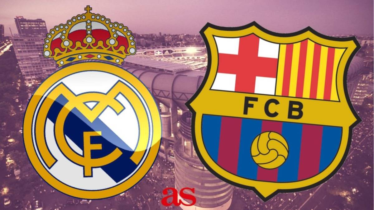 Real Madrid vs Barcelona: how and where to watch: times, TV, online - AS.com