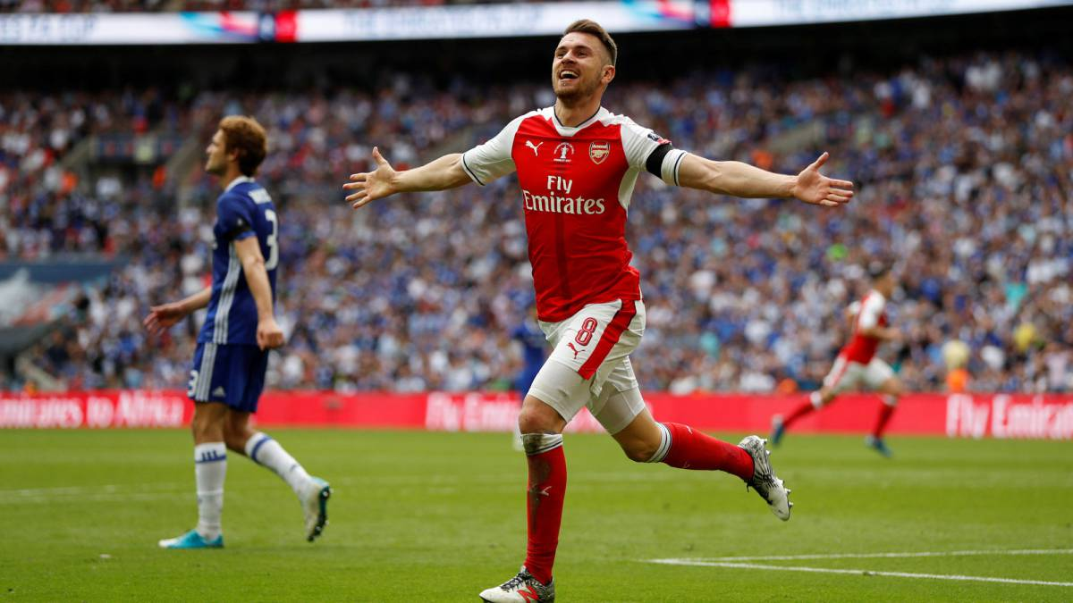 Image result for ramsey arsenal 2018