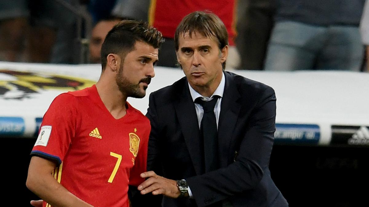 Villa determined to earn place in spain 39 s world cup squad for Championship league table 99 00