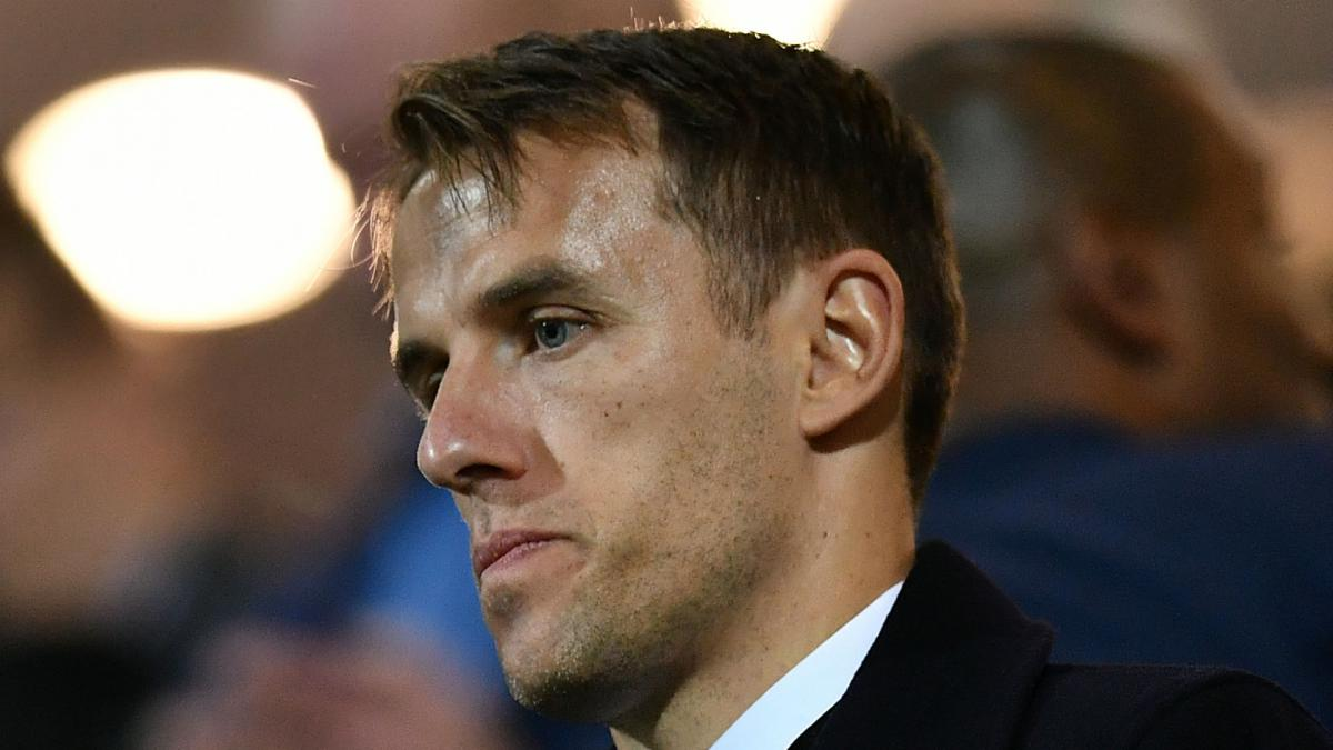 Phil neville issues apology as kick it out calls for fa for Championship league table 99 00