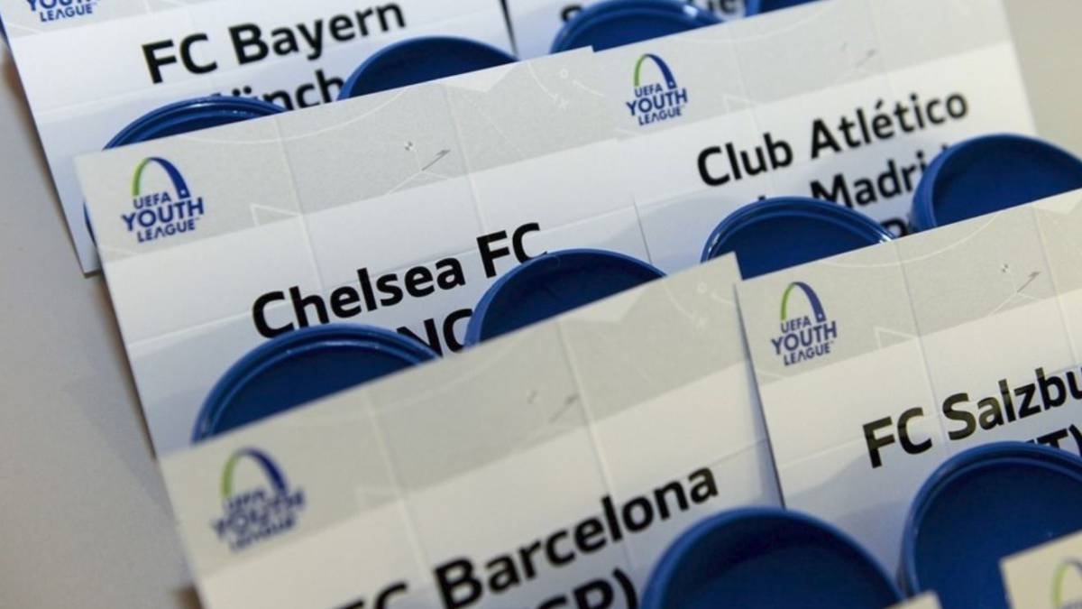 Uefa youth league knockout phase as it happened for Championship league table 99 00