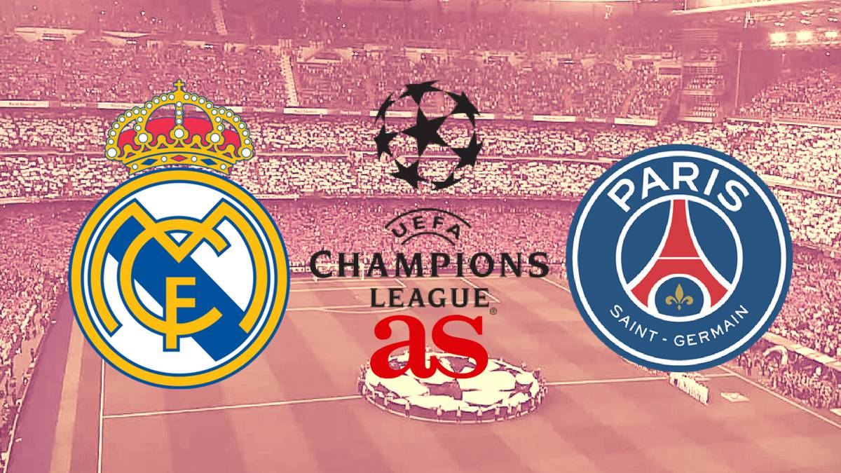 Real madrid vs psg live stream online champions league for Championship league table 99 00