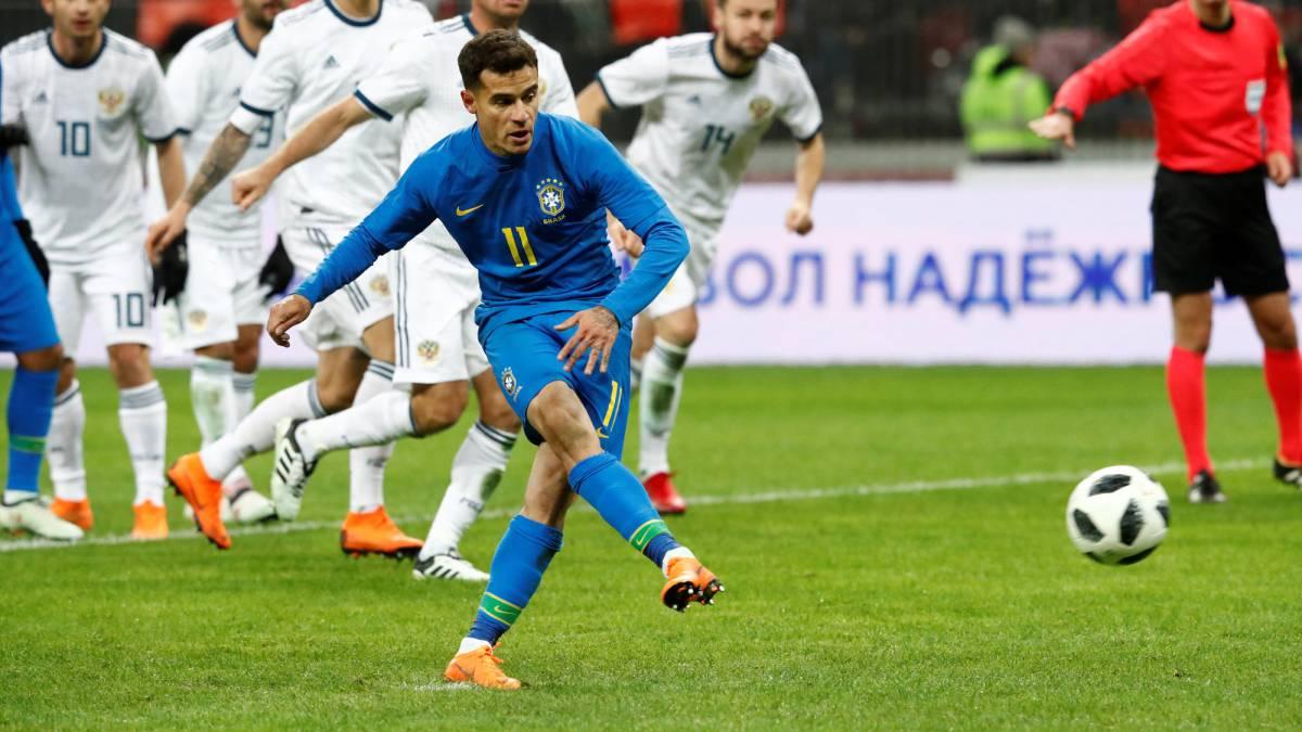 Russia 0-3 Brazil international friendly: match report ...